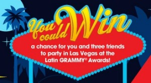 Win a Trip to Las Vegas for 4 to See the Latin Grammy Awards