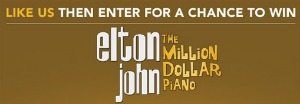 Win a Trip to see Elton John in Las Vegas
